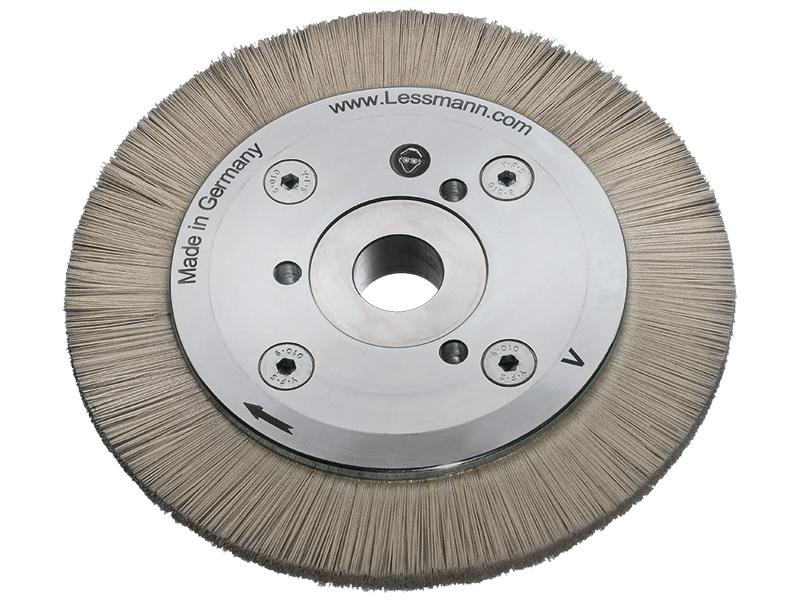Цилиндрические щетки для обработки твердого металла Lessmann (Kronburste)