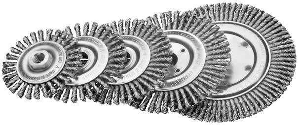 Щётки для сварщиков, стальная проволока Lessmann