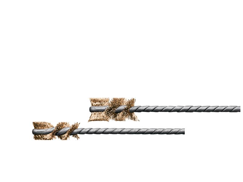 Микро ерши IBH, Латунная проволока, Lessmann (Kronburste)
