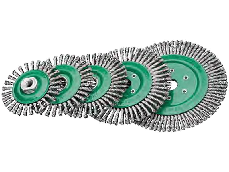 Щётки для сварщиков, стальная нержавеющая проволока Lessmann
