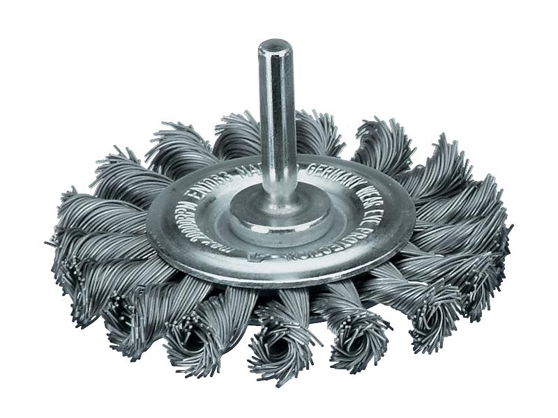 Щетки дисковые жгутовые с хвостовиком Lessmann (Kronburste)