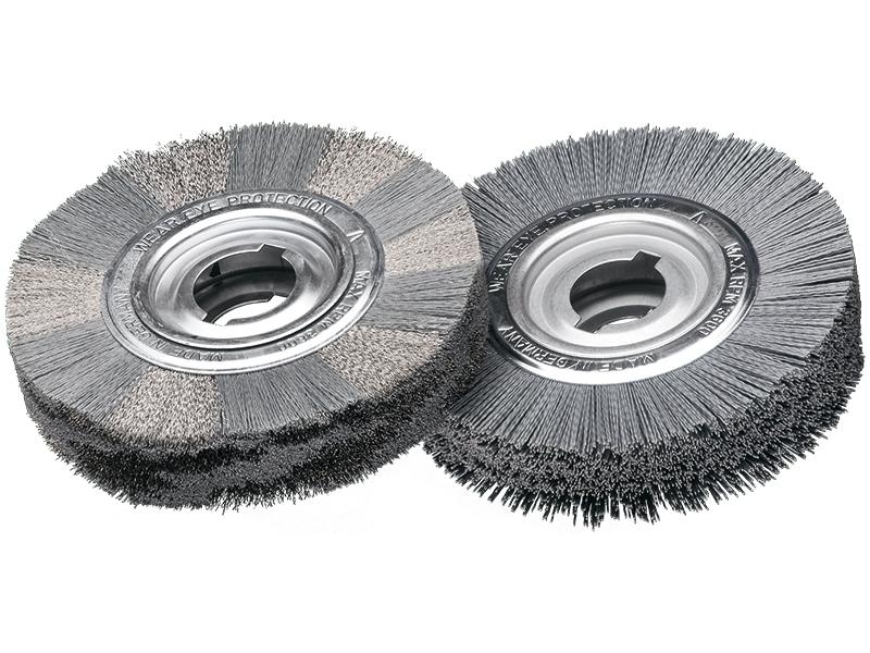 Щетки для удаления заусенцев, волокно с карбидом кремния Lessmann (Kronburste)