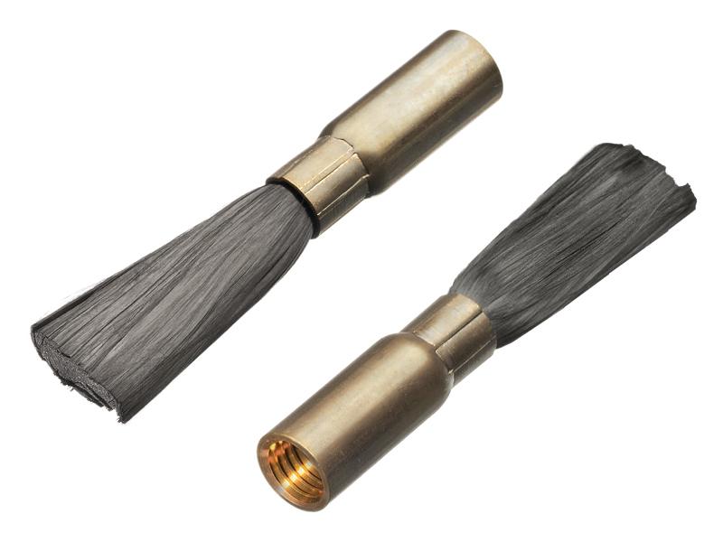 Щетки с углеродным волокном Lessmann (Kronburste)